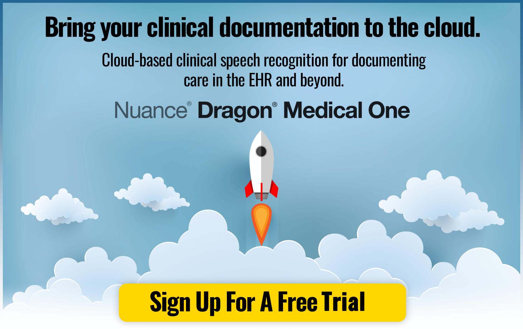 Bring your clinical documentation to the cloud. Cloud-based clinical speech recognition for documenting care in the EHR and beyond. Dragon Medical One