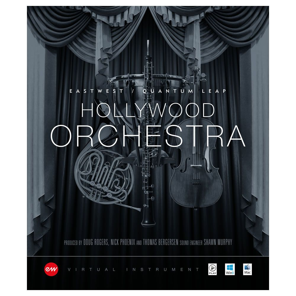 EastWest Hollywood Orchestra Gold Virtual Instrument (Download)