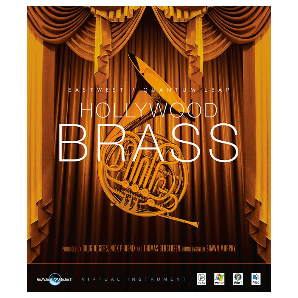 EastWest Hollywood Brass Gold Virtual Instrument (Download)