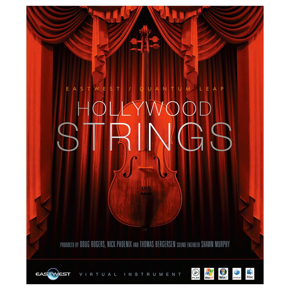 EastWest Hollywood Strings Gold Virtual Instrument (Download)