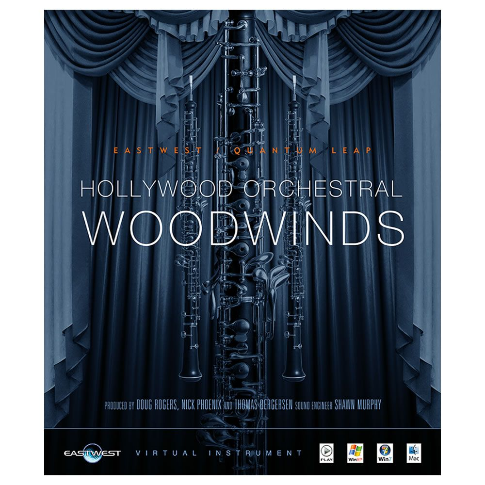 EastWest Hollywood Orchestral Woodwinds Gold Virtual Instrument (Download)