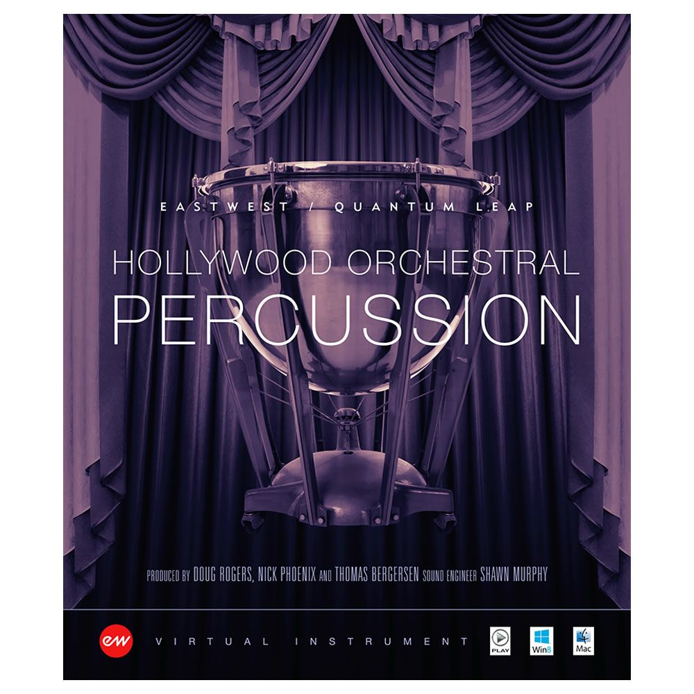 EastWest Hollywood Orchestral Percussion Gold Virtual Instrument (Download)