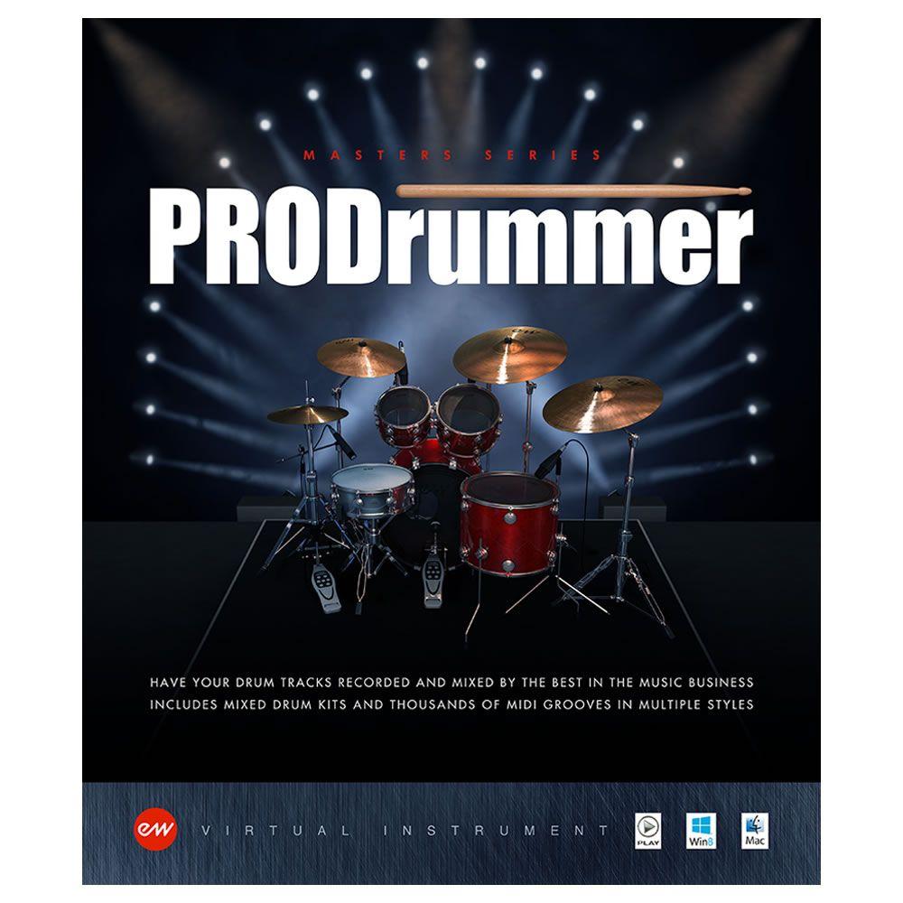 EastWest Prodrummer 1 & 2 Virtual Instrument (Download)