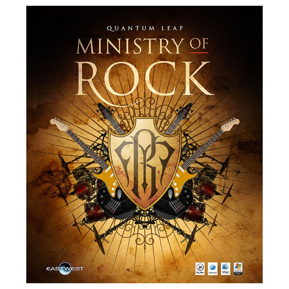 EastWest Ministry Of Rock Virtual Instrument (Download)