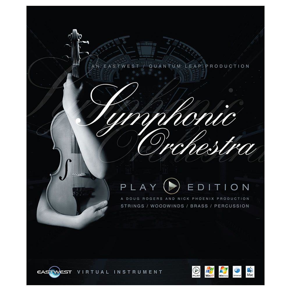 EastWest Symphonic Orchestra Gold Virtual Instrument (Download)