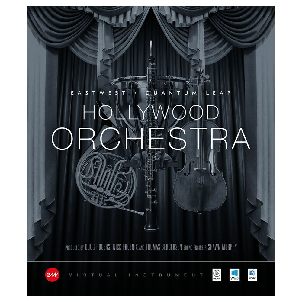 EastWest Hollywood Orchestra + Solo Instruments Gold Virtual Instrument (Download)