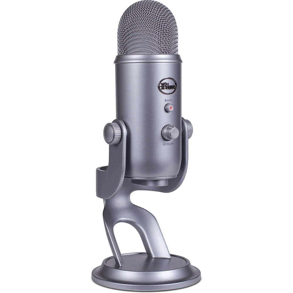 Blue Microphones Yeti Microphone Space Gray