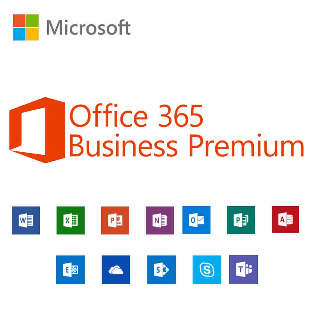 Microsoft Office 365 Business Premium Monthly Subscription License Technology Solutions For Small And Medium Business
