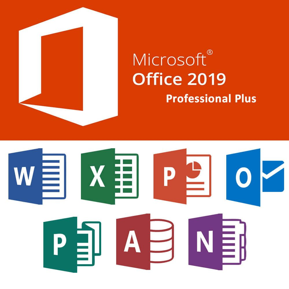 Microsoft Office Pro Plus 2019 (Non-Profit) for Windows
