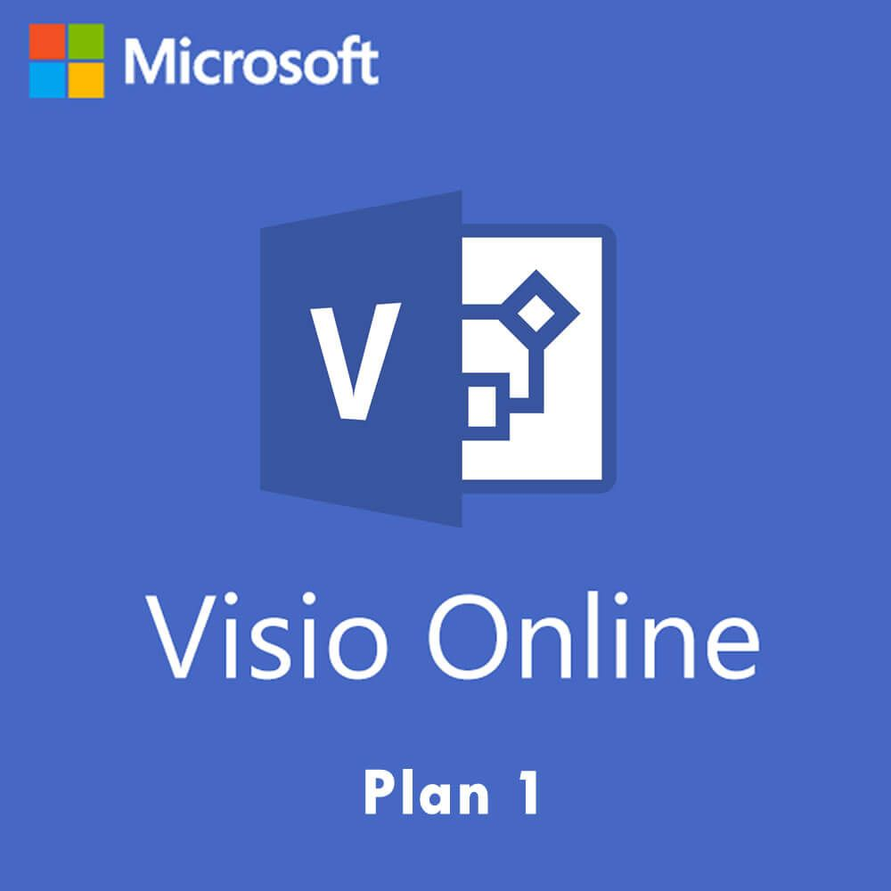 Microsoft Visio Online Plan 1 (Nonprofit) Monthly Subscription License