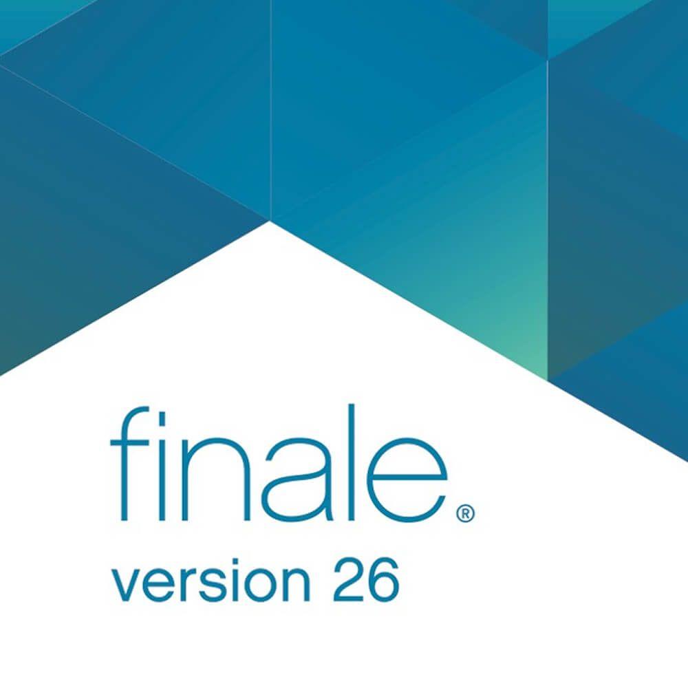 Makemusic Finale 26 (Academic Site License)