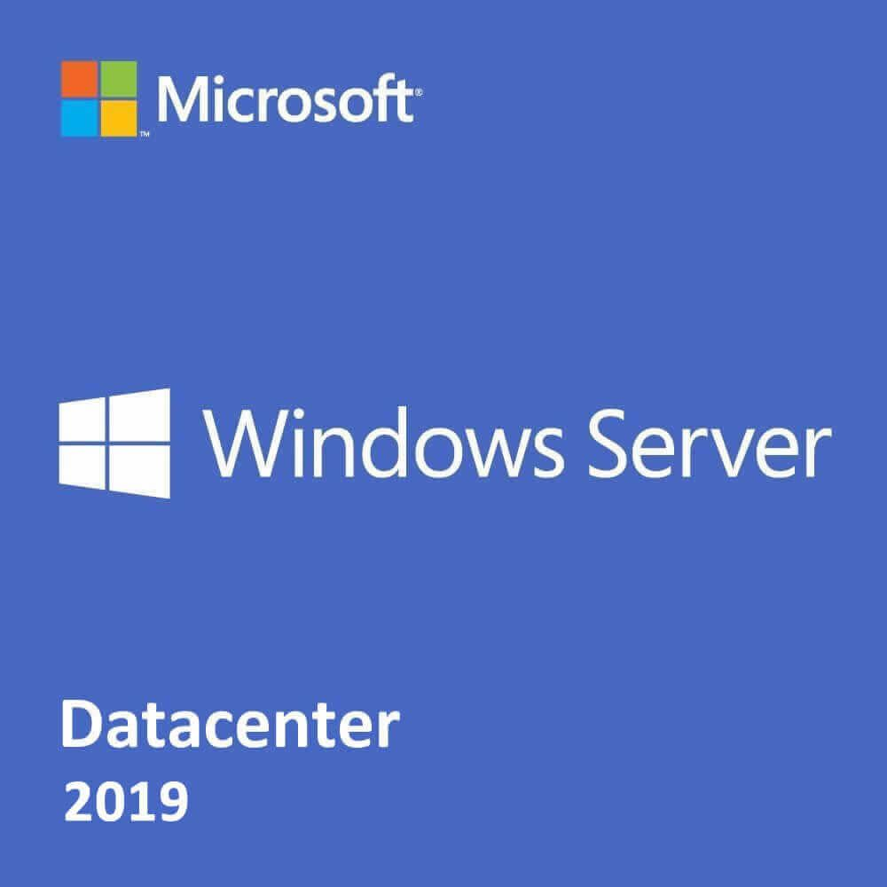Microsoft Windows Server 2019 Datacenter Edition 2-Core (Government)