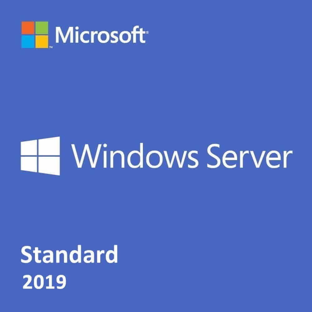 Microsoft Windows Server 2019 Standard Edition 2-Core (Government)