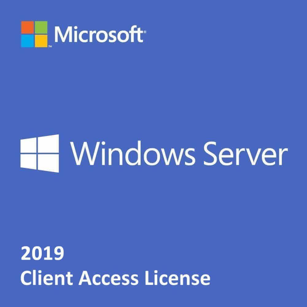 Microsoft Windows Server 2019 Client Access Licenses (Government)