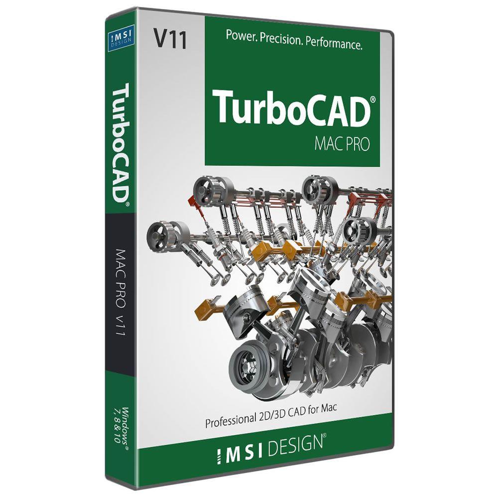 IMSI TurboCAD Mac Pro v11 Academic (Download)