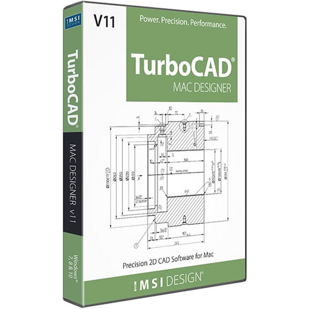 IMSI TurboCAD Mac Designer 2D v11 (School License)