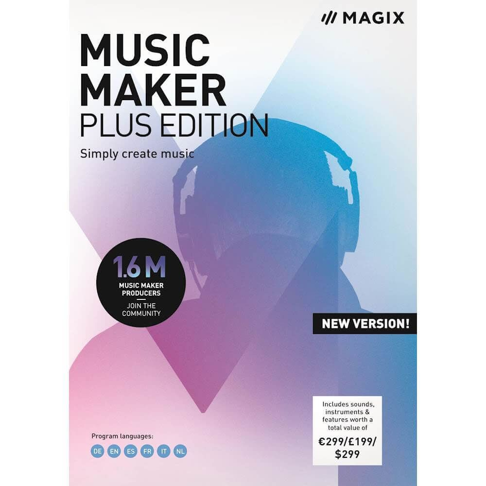 The new sound of Music Maker!