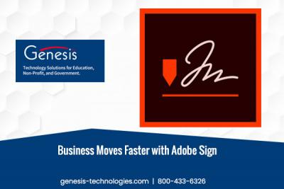 Business Moves Faster with Adobe Sign