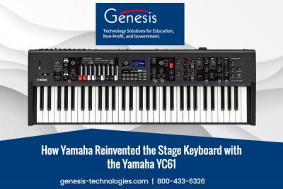 How Yamaha Reinvented the Stage Keyboard with the Yamaha YC61