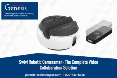 Swivl Robotic Cameraman - The Complete Video Collaboration Solution