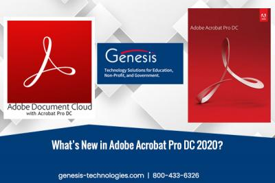 What's New in Adobe Acrobat Pro DC 2020?