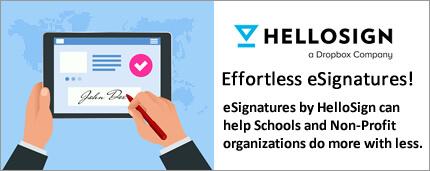 HelloSign eSignatures for Non-Profit Organizations and Churches