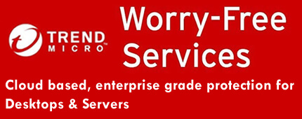 Trend Micro Worry Free Services for Desktops and Servers