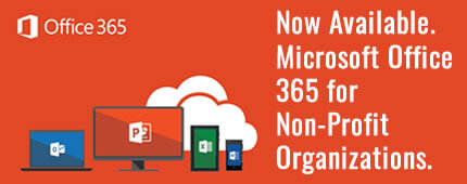 Microsoft Office 365 for Non-Profit Organizations and Churches