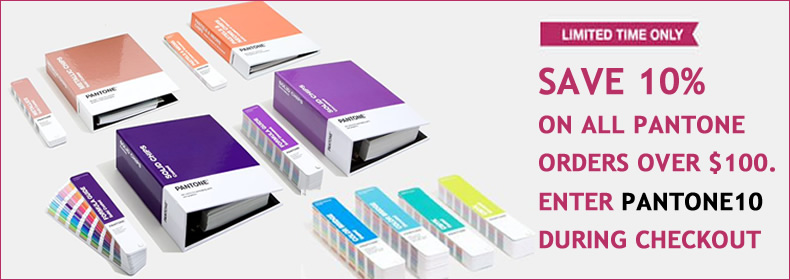 Limited Period Savings on Pantone Color Reference Guides